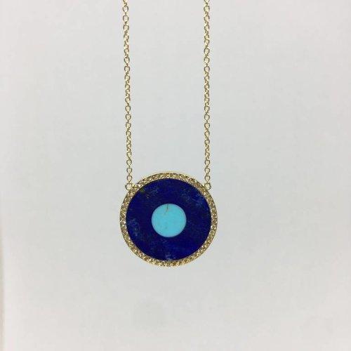 Jennifer Meyer Evil eye necklace