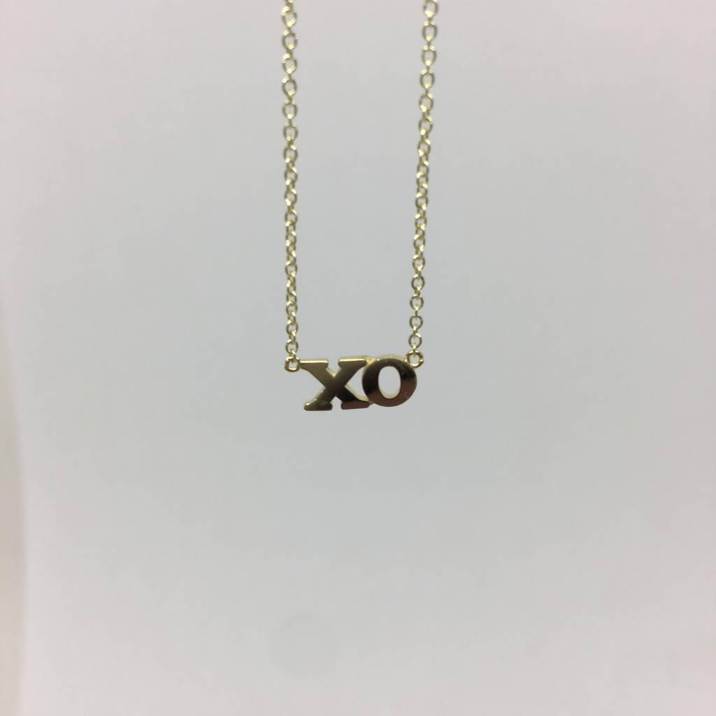 Jennifer Meyer XO necklace