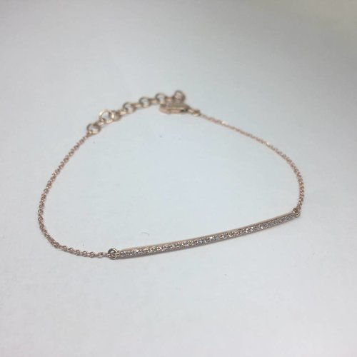 Majolie Diamond Bar Bracelet