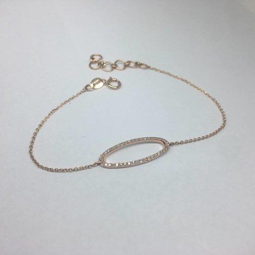 Majolie Open oval bracelet