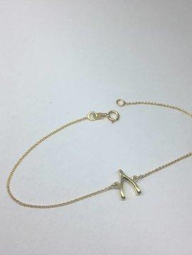 Jennifer Meyer Jennifer Meyer Wishbone Bracelet