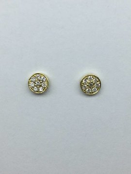 Jennifer Meyer Diamond Circle Stud