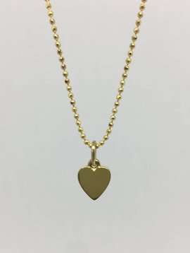 Jennifer Meyer Mini Heart Necklace