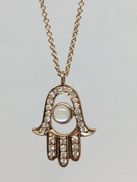 Lera Jewels Hamsa Necklace