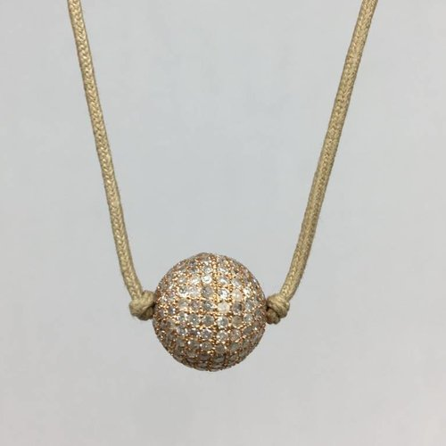 Lera Jewels Diamond ball choker