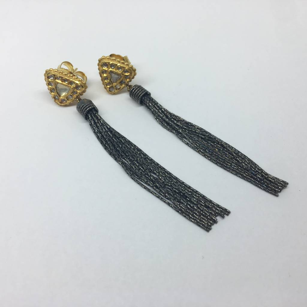 United Gemco Diamond Tassle Earring