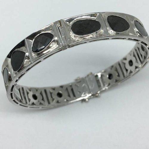 United Gemco Black Diamond Bracelet