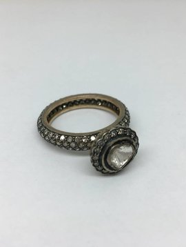 United Gemco Raw Diamond Ring