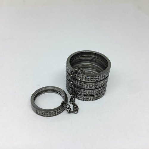 United Gemco Double Banded Ring