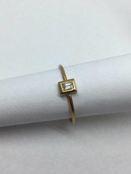 Rosedale Baguette Ring