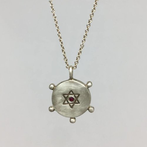 Me&Ro Star of David Necklace