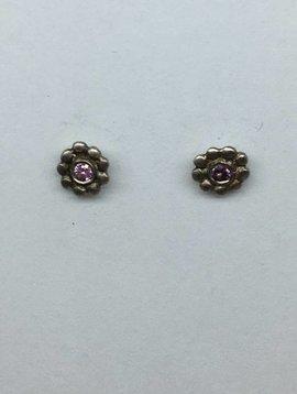 Me&Ro Pink Sapphire Earrings