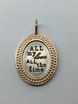 "Heather Moore ""All my love"" Charm"