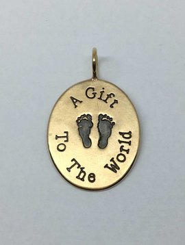 "Heather Moore ""Gift to the World"" Charm"
