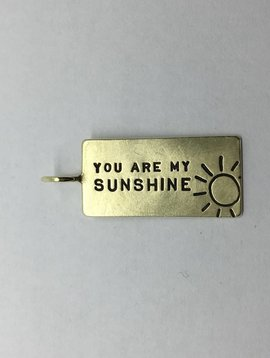 "Heather Moore ""You are my Sunshine"" Charm"