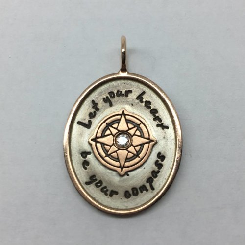 "Heather Moore ""Let your heart"" Charm"