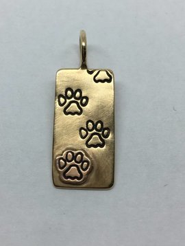 Heather Moore Paw Print Charm