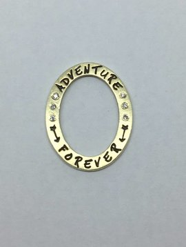 "Heather Moore ""Adventure forever"" Charm"