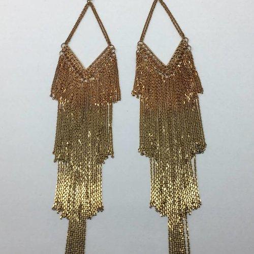 Marie-Laure Chamorel Graduated Earrings