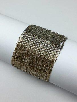 Marie-Laure Chamorel Graduated Chain Bracelet