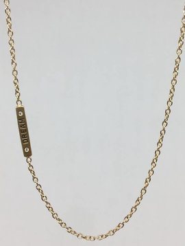 "Heather Moore ""Dream"" Bar Necklace"