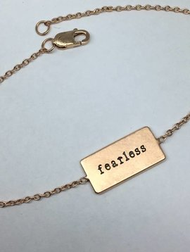 Heather Moore Fearless Bracelet