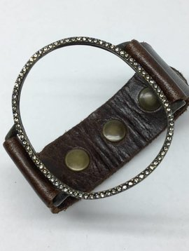 Rebel Design Open Circle Cuff