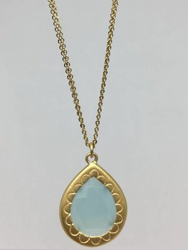 Lorak Chalcedony Necklace
