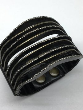 Rebel Design Line Cuff Bracelet