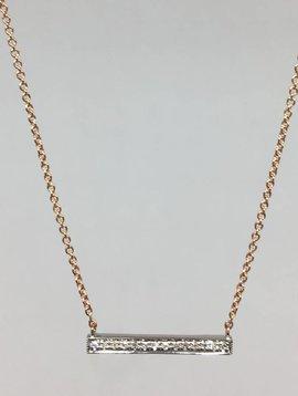 Dana Rebecca Medium Bar Necklace