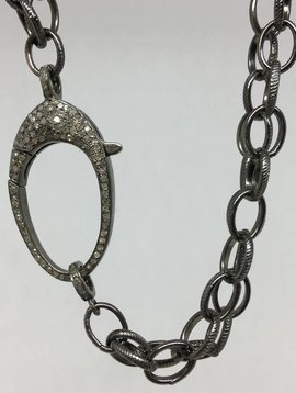 Lotasi Jewels Diamond Clasp Necklace