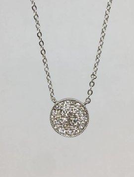 Nyla Star Sam Large Disc Necklace