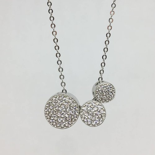 Nyla Star Sam Triple Slider Necklace