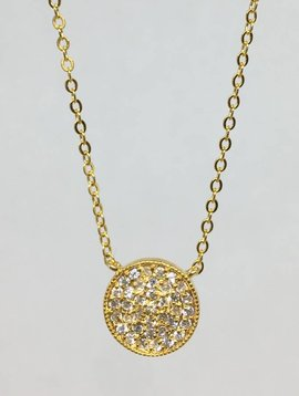 Nyla Star Sam Large Disc Necklace