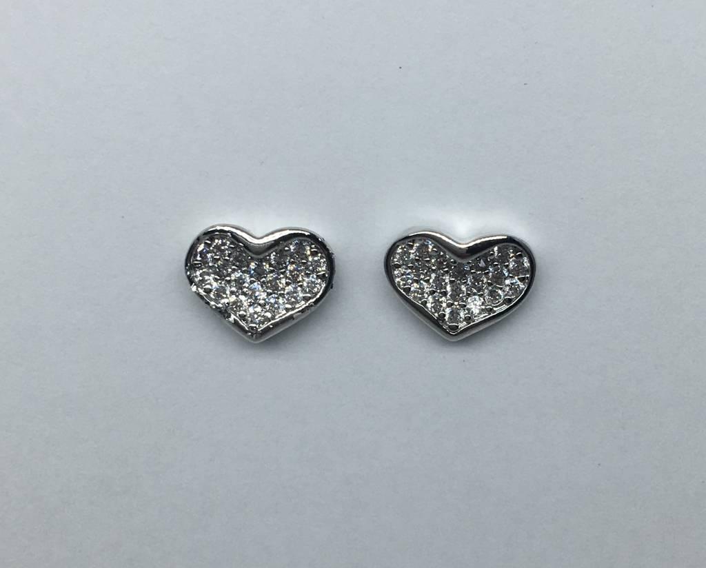 Tai Silver Heart Earrings