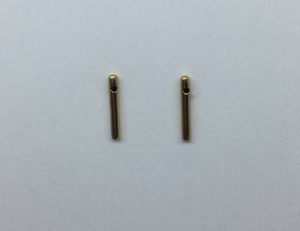Tai Gold Plated Stick Studs