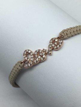 Tai Braided Love Bracelet