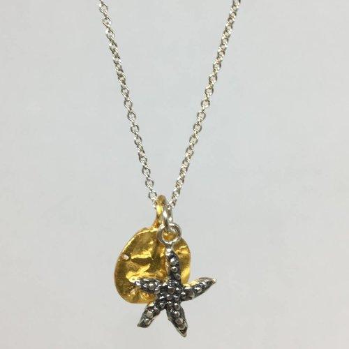 B.U. Starfish Necklace