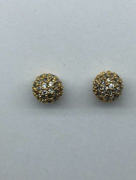 Tai Gold Ball Earrings