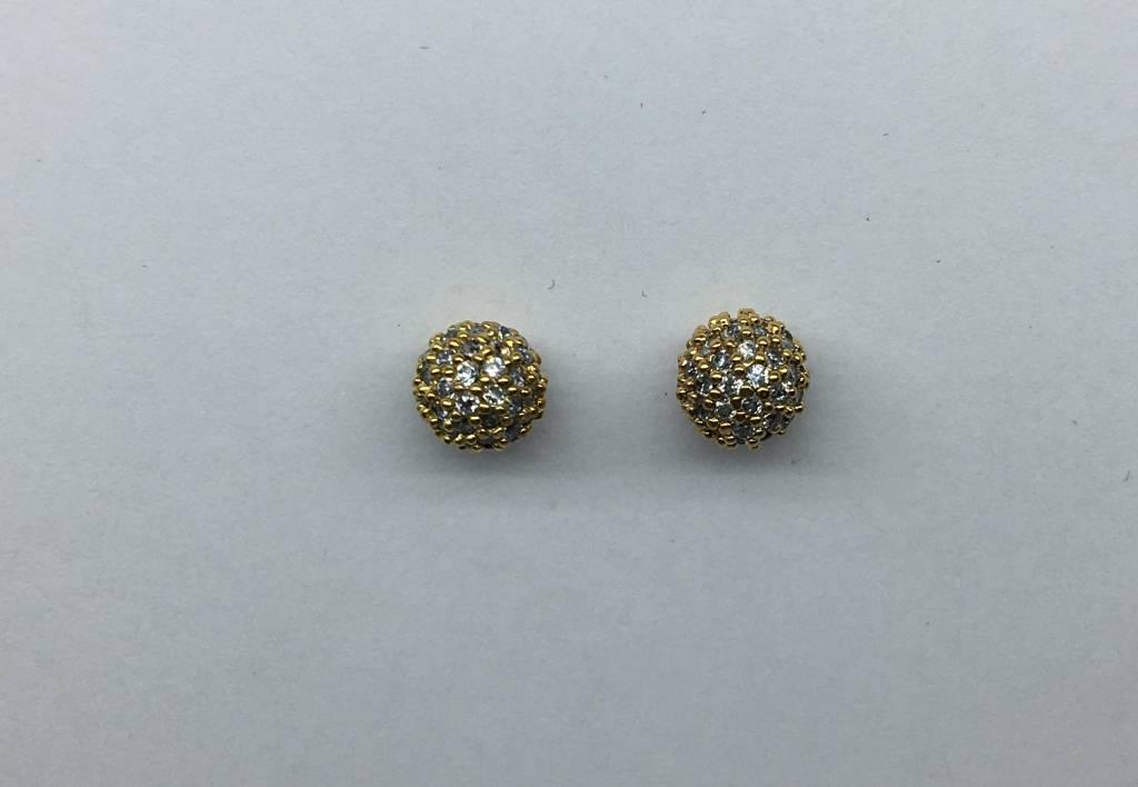 Tai Gold Ball Earrings