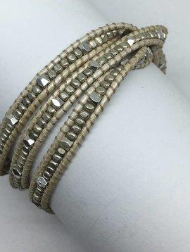 Nakamol Design Metallic Multiwrap Bracelet