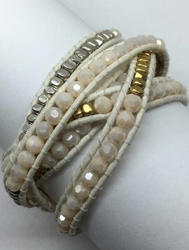 Nakamol Design Ivory MultiWrap Bracelet