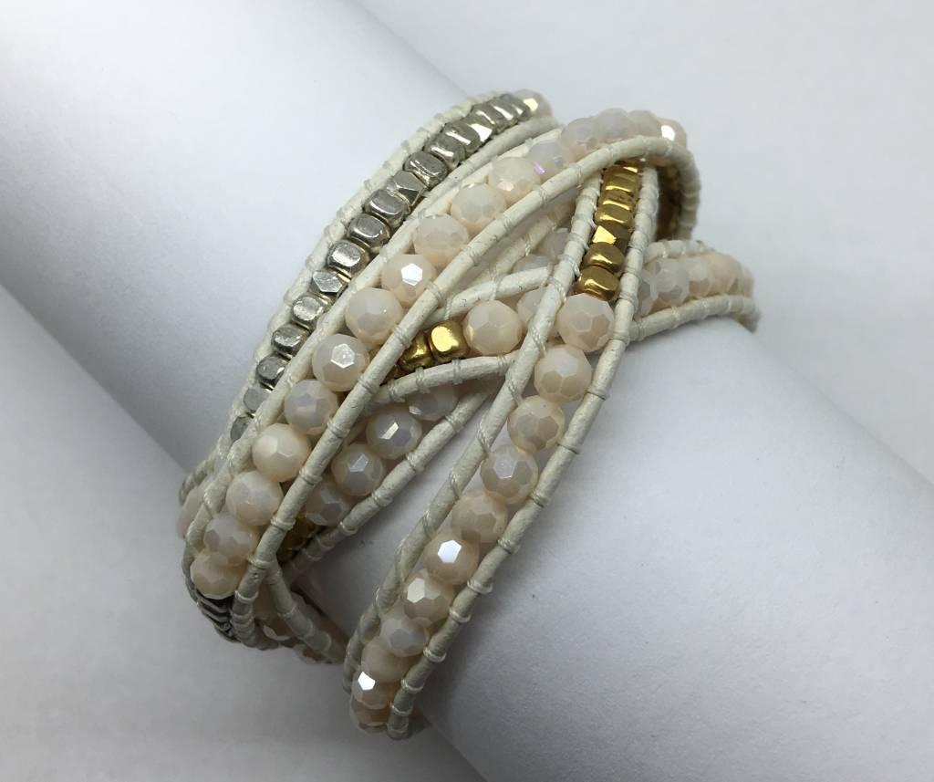 Nakamol Design Ivory Mulit Wrap Bracelet