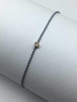 Hortense Flirty Diamond Cord Bracelet