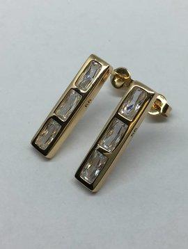 Rachel Ryen Bar Stud Earring