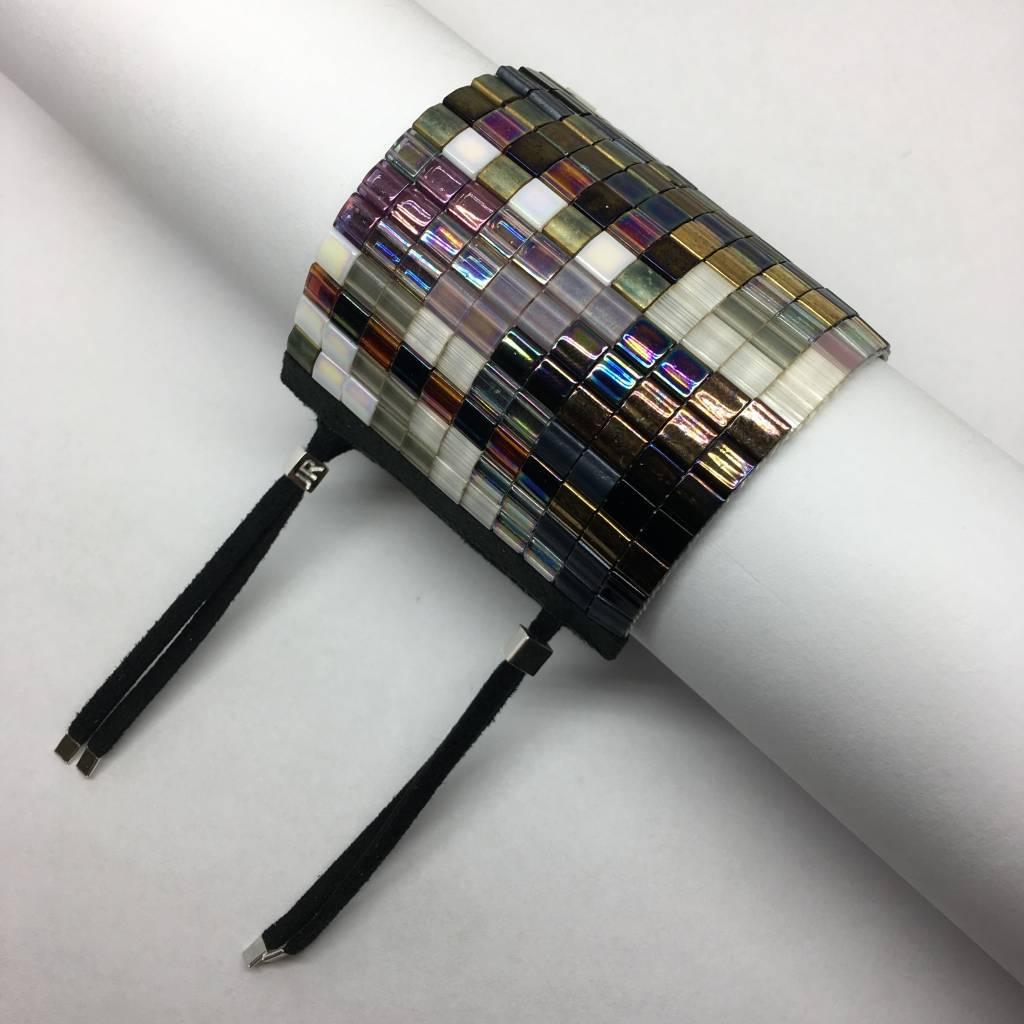 Julie Rofman Handwoven Glass Beaded Bracelet Sydney