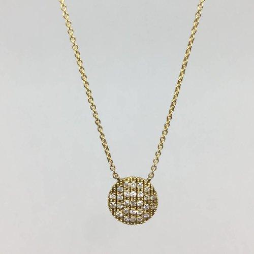 Dana Rebecca Diamond circle necklace