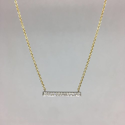 Dana Rebecca Medium Bar Necklace
