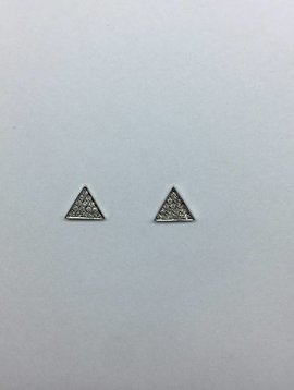 Dana Rebecca Diamond Triangle Earrings