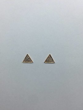 Dana Rebecca Diamond Triangle Earring